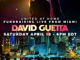 David Guetta United at Home en Vivo